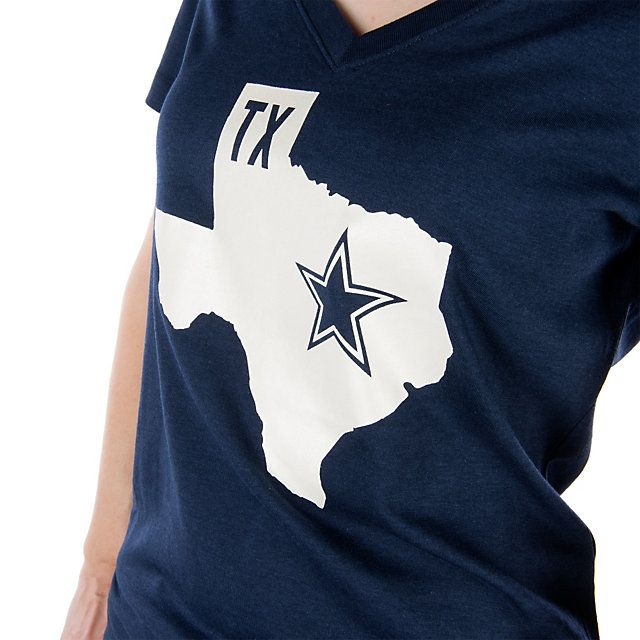Dallas Cowboys Nike Women's Tri-blend State Tee