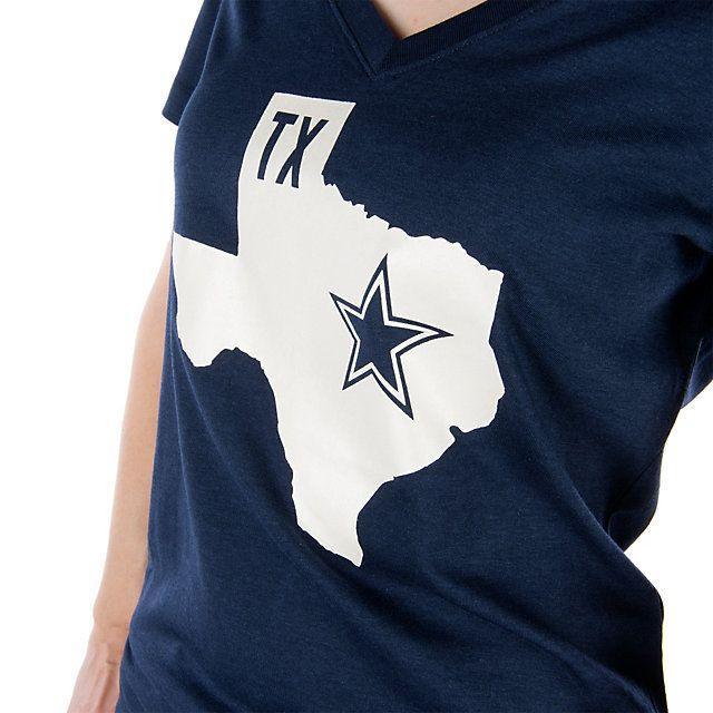 Dallas Cowboys Nike Women's Tri-blend State Tee