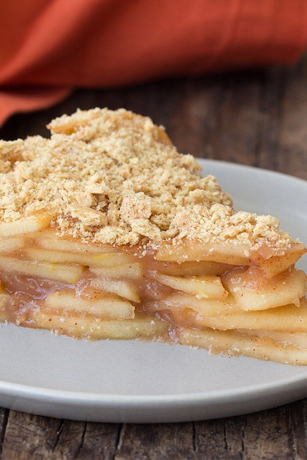Fruity desserts can be deceptively fatty and packed with sugar -- not this one! Our new apple pie recipe is delicious, healthy, and easy to make. And just for the fun, we put the crust on the top!