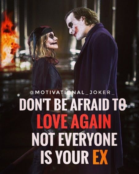 Don't be afraid to..... For more Motivational and Realistic Quotes  Follow  @motivational_joker_   Follow  @motivational_joker_   Follow  @motivational_joker_  ____________________________________________________________________________________________   Turn on PAGE NOTIFICATION  ____________________________________________________________________________________________ #Joker #HeathLedger  #thejoker #thedarkknight #whysoserious #batman #comics #gotham #gothamcity #villain #dccomics…