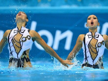 KAZAKHSTAN  Best synchronised swimming costumes of the London 2012 Olympics - Fashion Galleries - Telegraph