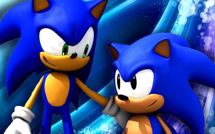 Classic Sonic meets Ryan Drummond's Sonic. #SonGokuKakarot