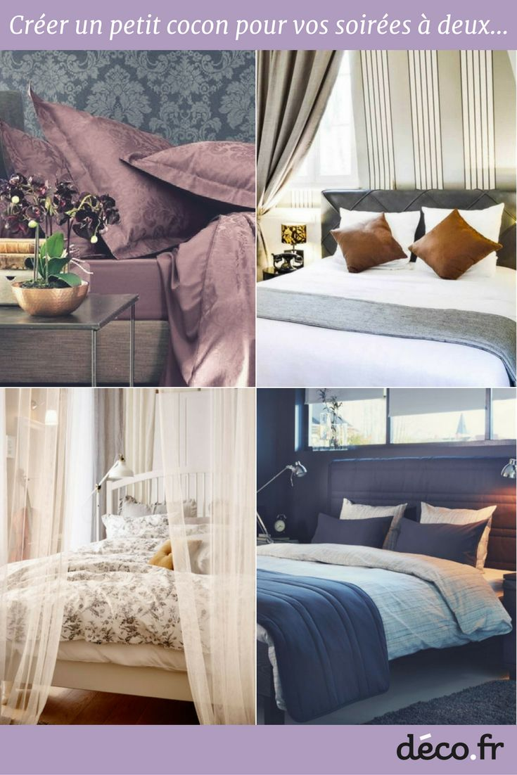 133 best CHAMBRE ADULTE images on Pinterest | Bedroom, Master ...
