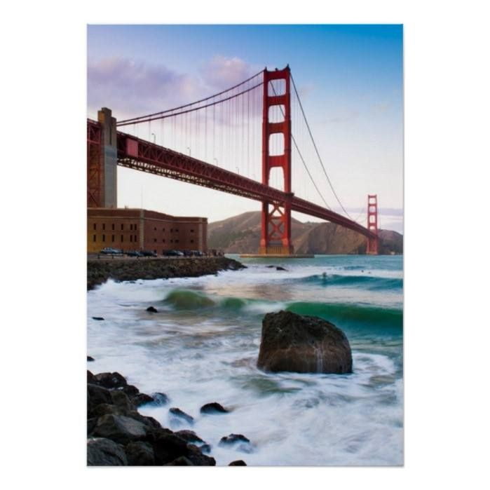 Customizable #Architecture #Building#Exterior #California #City #Cloud #Color#Image #Connection #Consumerproduct #Day #Distant #Golden#Gate#Bridge #Horizontal #International#Landmark #Mountain #Mountain#Range #Nature #No#People #Outdoors #Photography #Rock #San#Francisco#California #Sea #Sky #Suspension#Bridge #Tranquil#Scene #Travel#Destinations #Usa Classic Golden gate bridge. Poster available WorldWide on http://bit.ly/2fXy5gx