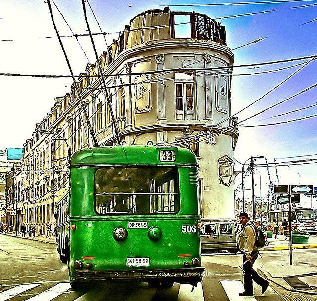 Valparaiso. La Ratonera y Trolley. Foto Antonio Ljubetic | por Bracani....Antonio Ljubetic