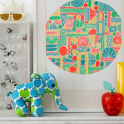 byGraziela elephant rocking the mantel piece!
