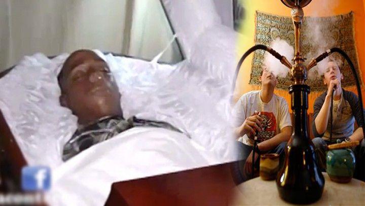 Resultado de imagen para Muere menor de 17 años de un infarto mientras fumaba Hookah