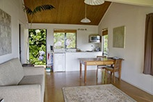Kerikeri Accommodation Bay of Islands. Self catering eco cottages. Award winning cafe/restaurant onsite. www.wharepuke.co.nz  Subtropical garden, and Art Gallery onsite