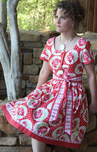 Betty June Shirt-Waist Dress Sewing Pattern
