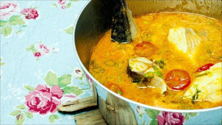 «Bouillabaisseinspirert» fiskesuppe
