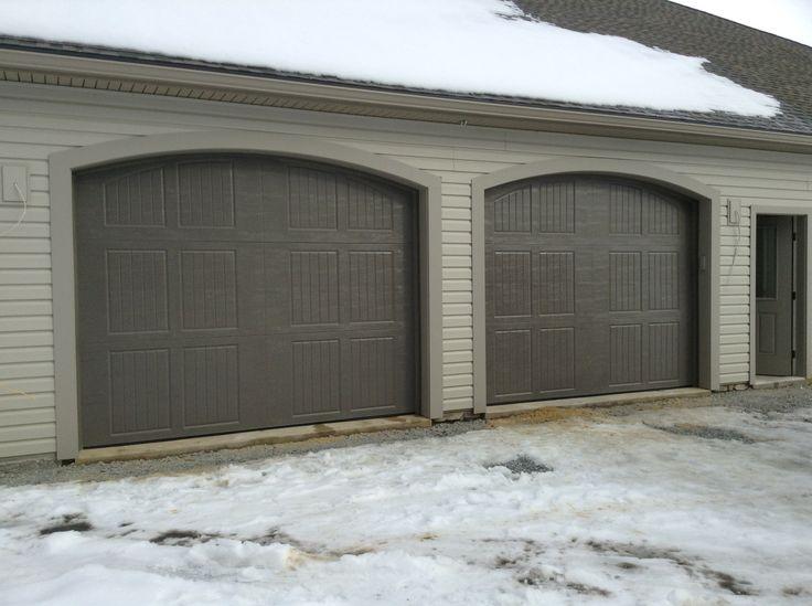 44 best exterior reno images on Pinterest | Exterior homes ... on Garage Door Color Ideas  id=98932