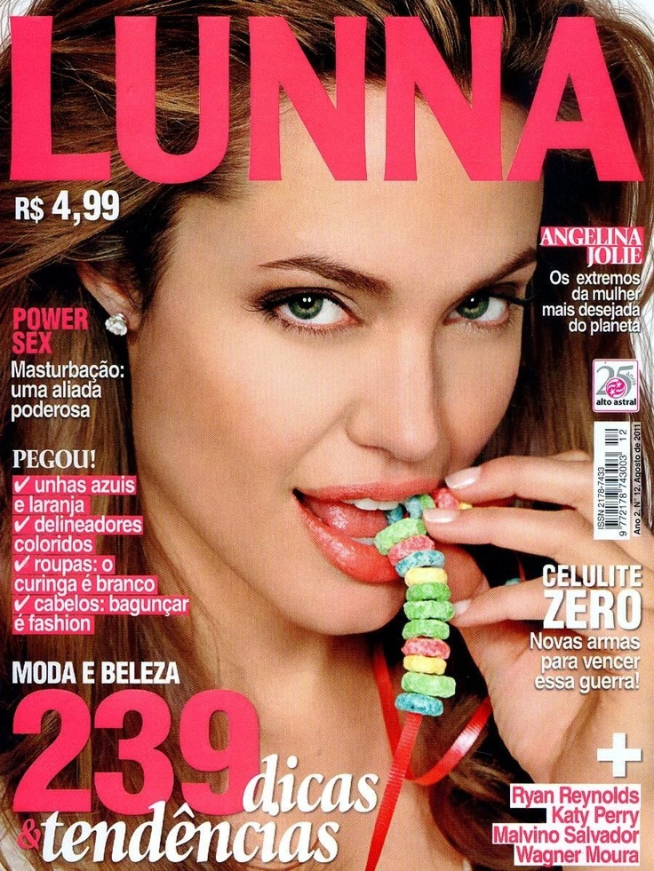 Jolie Magazine November 2017 Issue: Angelina Jolie Magazine Cover Photos