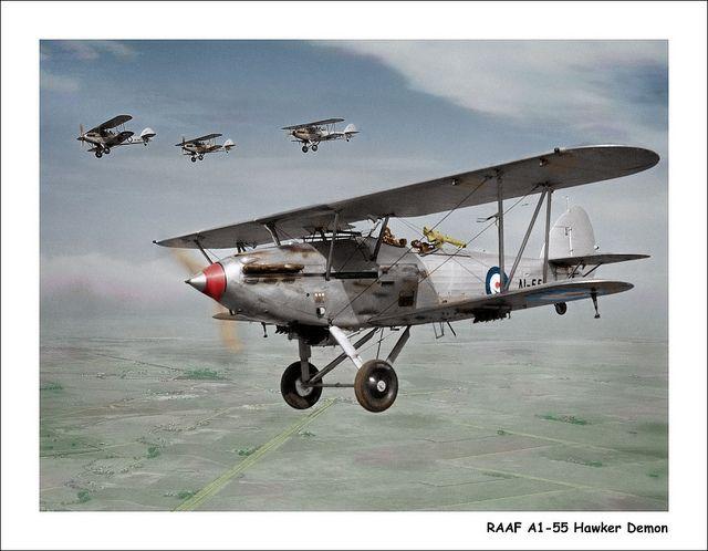 RAAF A1-55 Hawker Demon