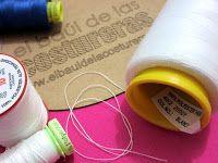 Cómo coser telas elásticas punto jersey, licra con máquina casera, aguja de punta de bola y prensatelas de sobrehilado