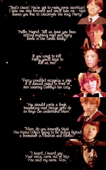 Ron Weasly quotes: Ron Weasli, Books, Ron Weasley Quotes, Rupert Grint, Ron Quotes, Ronald Weasley Quotes, Ron 3, Movie, Harry Potter