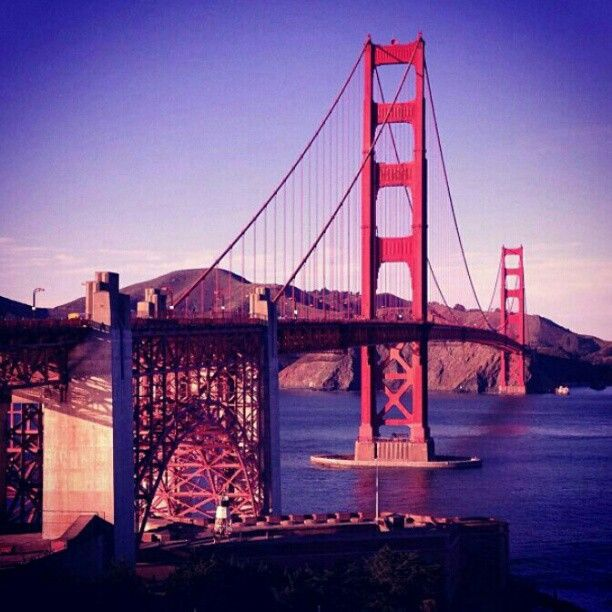 The mighty span of the #GoldenGateBridge, #SanFrancisco, #California. Image by @elly_alyssa_jones. #lp #travel