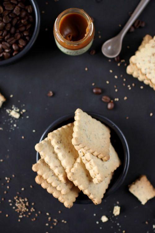 Biscuits sablés aux graines de sésames