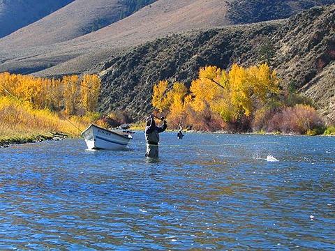 Idaho rocky mountain ranch idaho fly for Idaho fly fishing lodges