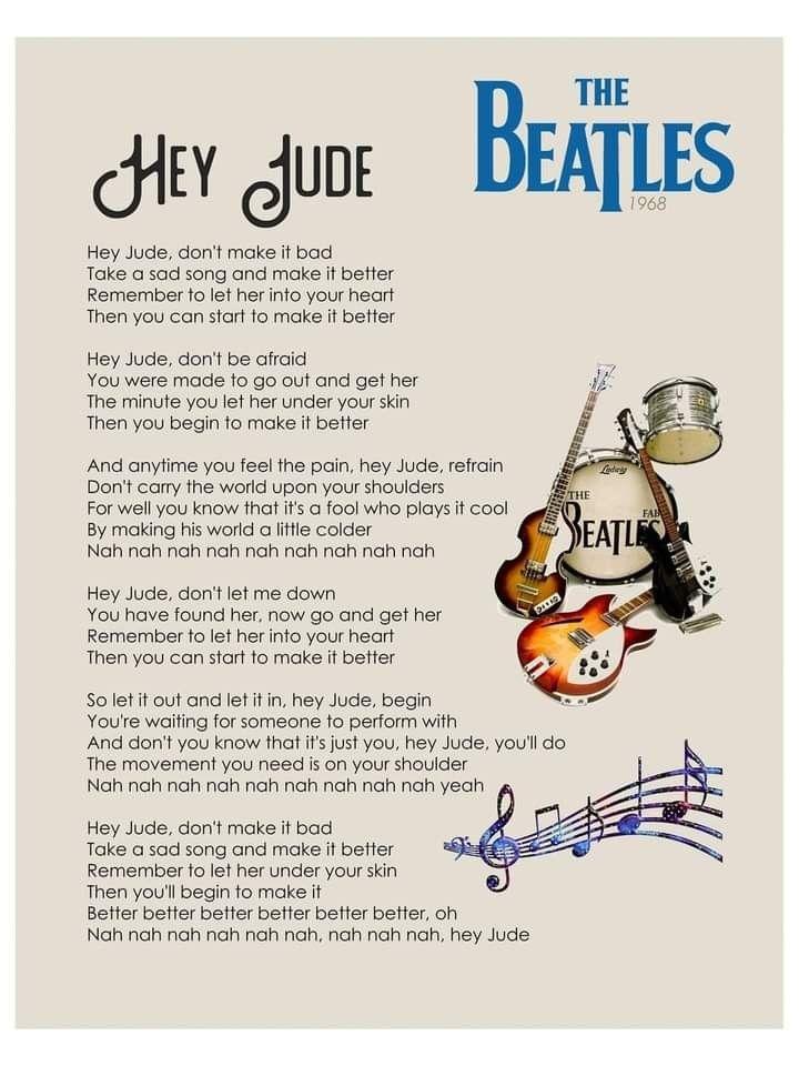 Pin De Evelin K En Frases De Los Beatles Beatles Partituras Frases