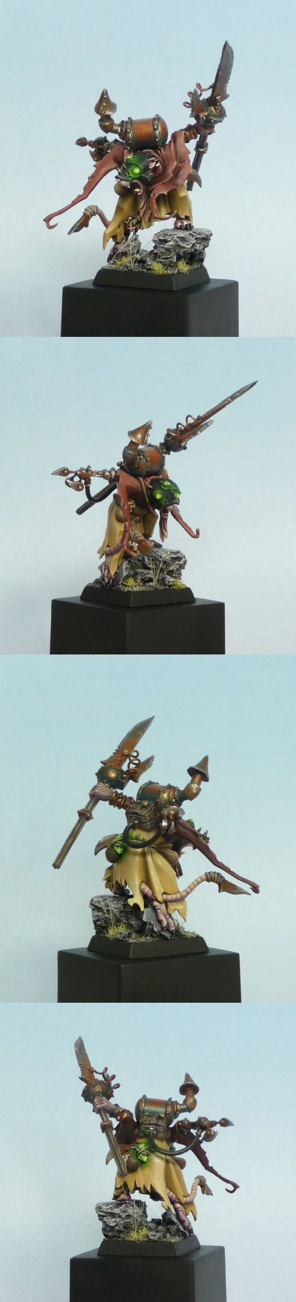Skaven Warlock conversion.