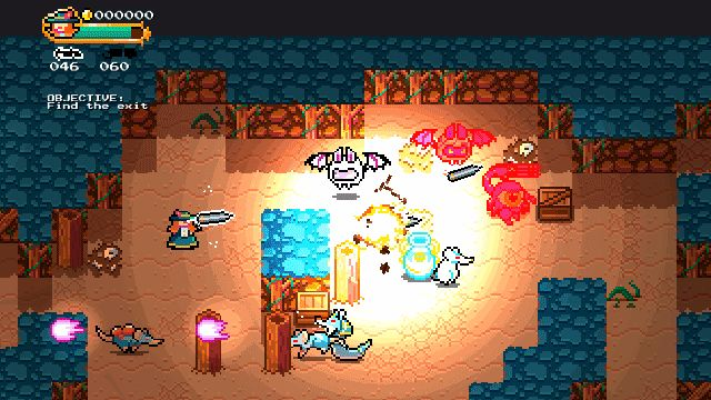 Monsters & Monocles by Retro Dreamer, a procedural, Nuclear Throne-like game with a flair for the occult