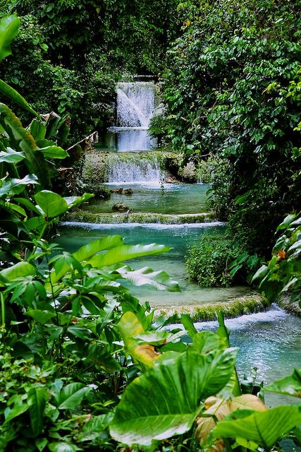 Mele Cascades, Vanuatu South Pacific - taken by Chris Arneil