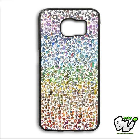 Pokemon Pokedex Pikachu Samsung Galaxy S6 Edge Plus Case