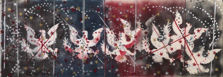 Franco Angeli, Senza titolo, 1967 Tornabuoni Art - La Dolce Vita  Courtesy Tornabuoni Art