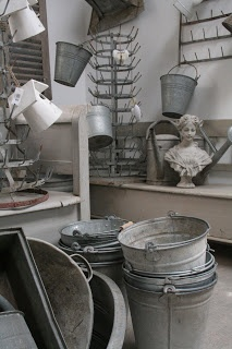 Servies en Brocante