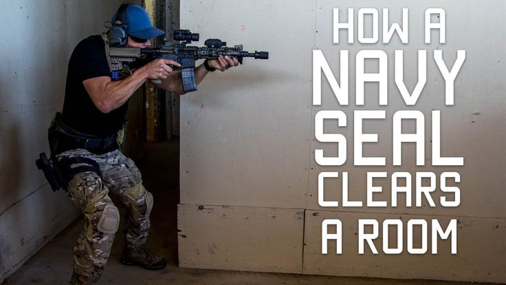 How a Navy SEAL Clears a Room | Close Quarters Combat CQC | Tactical Rifleman - YouTube