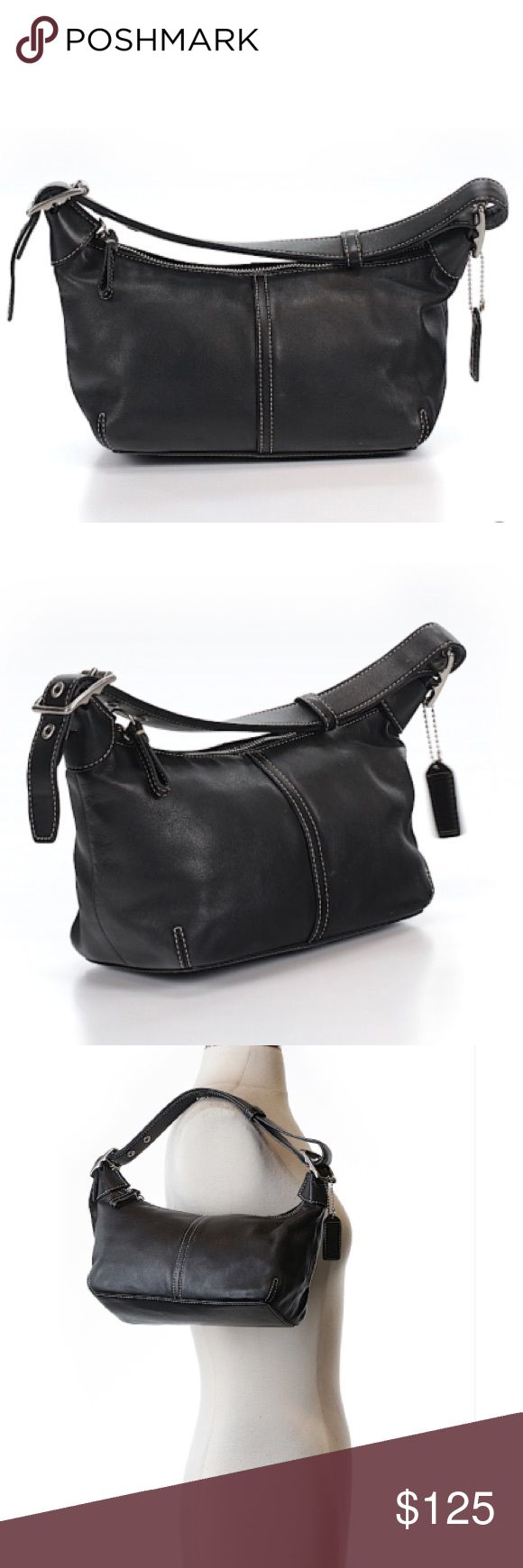 Coach hobo shoulder bag Very good condition, minor signs of use with minor scratches to exterior and minor interior wear. No major flaws/stains/smells. Coach Bags Shoulder Bags