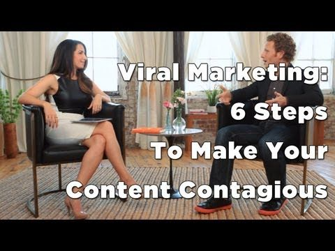 6 Steps to Making Your Content Contagious - Viral Marketing - YouTube with Marie Forleo