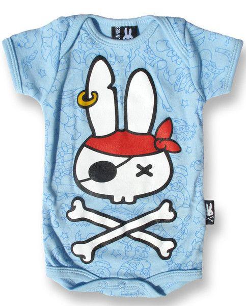 Bodýčko Six Bunnies - Pirate Bunny