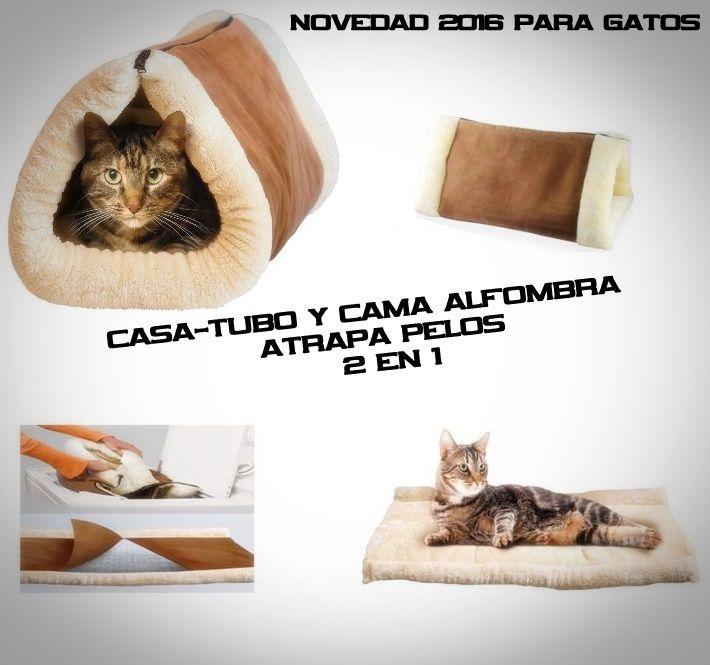 $10.500.-  Kitty Shack, es una cama alfombra que gracias a su cierre se convierte en una cama tubo. La particularidad de esta cama es que atrapa los pelos que tu gato, lo cual te libera completamente de esos molestos pelos que andan el aire, en tu cama o los sillones. Tambien cuenta con un nucleo termo-reflectante que atrapa el calor que emite tu gato, lo cual permite que tu gato siempre mantenga la temperatura adecuada (calor) a la cual están acostumbrados por naturaleza.