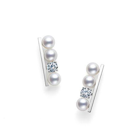 "TASAKI ""balance diamonds solo"" created by TASAKI's Creative Director, Thakoon Panichgul.  JP:http://www.tasaki.co.jp/best_selections/balance/ EN:http://www.tasaki-global.com/best_selections/balance/"