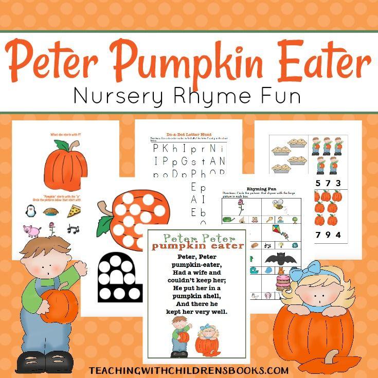 pumpkin rhymes preschool best 25 nursery rhymes ideas on 206