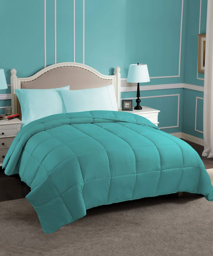 Turquoise Down Alternative Comforter | Comforters, Bed ...