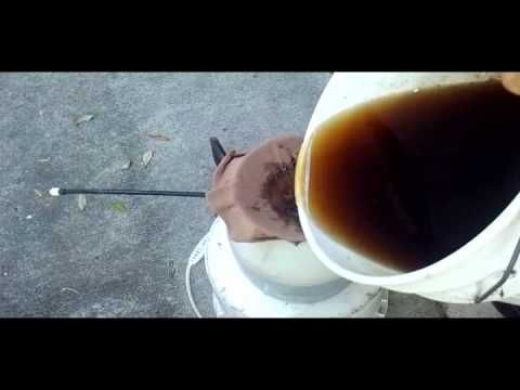 Worm Compost Tea: New aeration method, recent research, demonstration (Part II) - YouTube