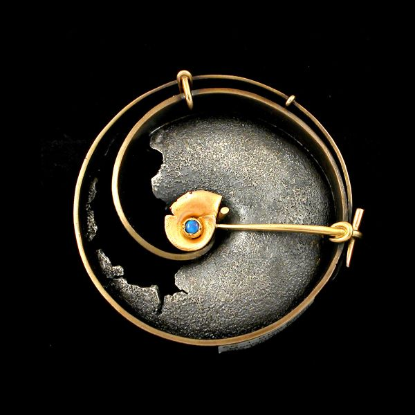 This man is awesome--Andy Cooperman bronze artist: Moon Snails, Andy Cooperman, Moonsnail Brooches, Cooperman Brooches, Jewelry Brooches Pin, Art Jewelry, Inspiration Brooches, Brooches Andy, Cooperman Jewelry