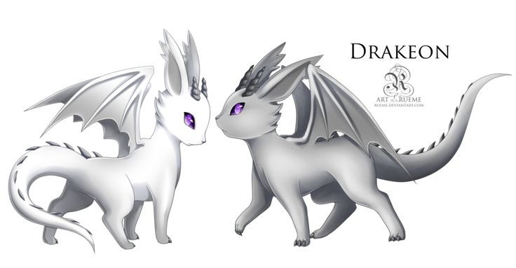 Eevee drakeon dragon evolves from eevee when leveled up - Evolution pokemon argent ...