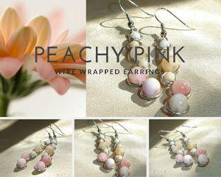 Pasztell jade fülbevaló / Pastell jade earrings