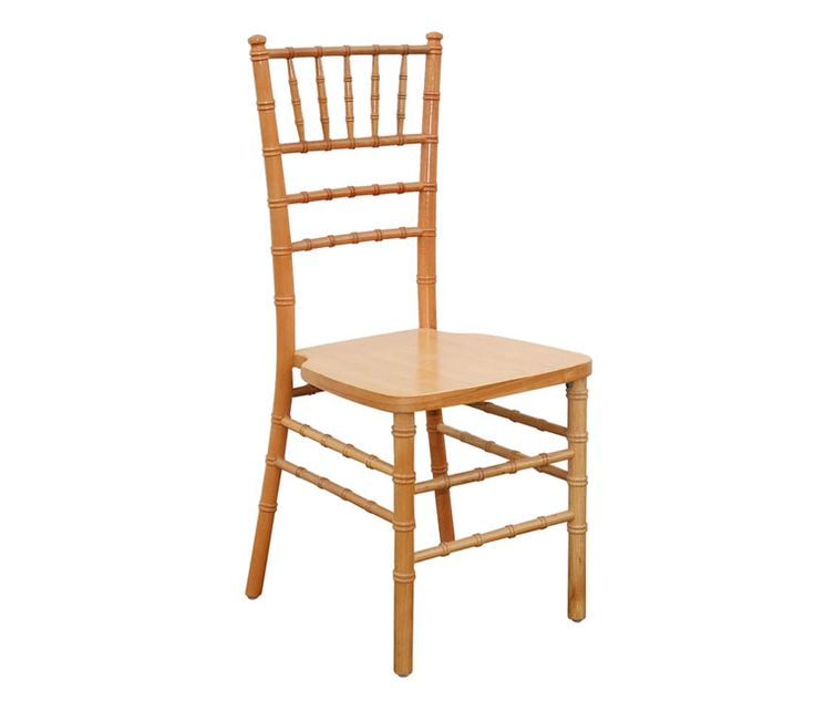 WOODEN CHIAVARI The Alloyfold Wooden Chiavari is elegant and classic. Made from German Beech Wood, the Chiavari is strong, lightweight and stackable. The chair of choice for sophisticated events.