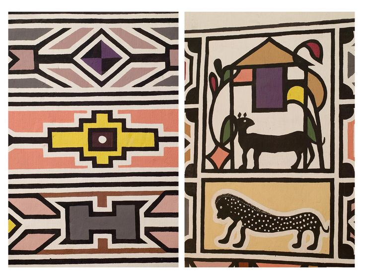 The Ndebele have long been a minority, but that has never stopped Ndebele women from sustaining their cultural identity through the powerful visual language of their beaded body adornments and distinctive homestead murals.