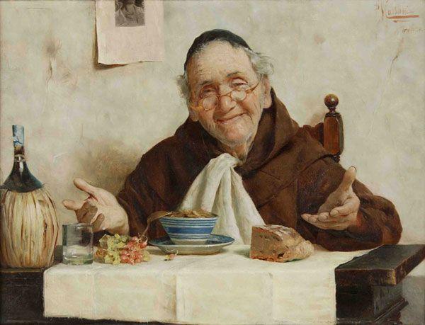 """Massani, Pompeo """"El almuerzo del monje"""