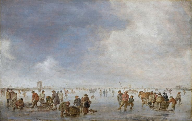 Jan van Goyen - IJsvermaak