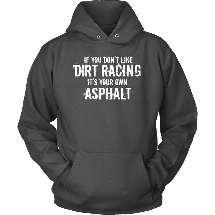 If You Don't Like Dirt Racing Women Hoodie