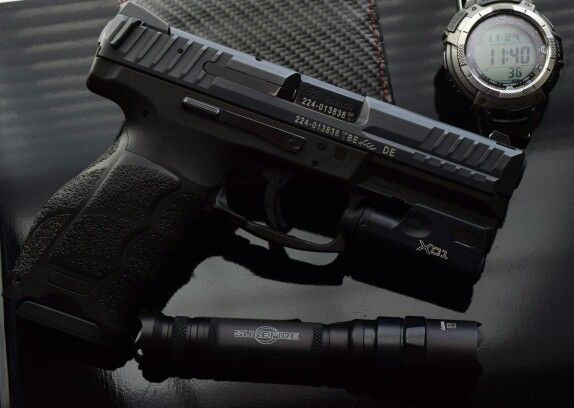 Hk Vp9 With A Surefire Xc1 And Surefire E2d Ultra My Own