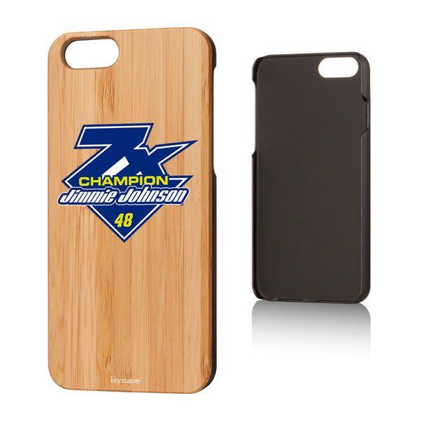 Jimmie Johnson 2016 Sprint Cup Champion Bamboo iPhone 6 Case - $29.99