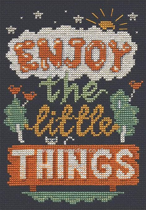 Buy Little Things Cross Stitch Kit Online at www.sewandso.co.uk