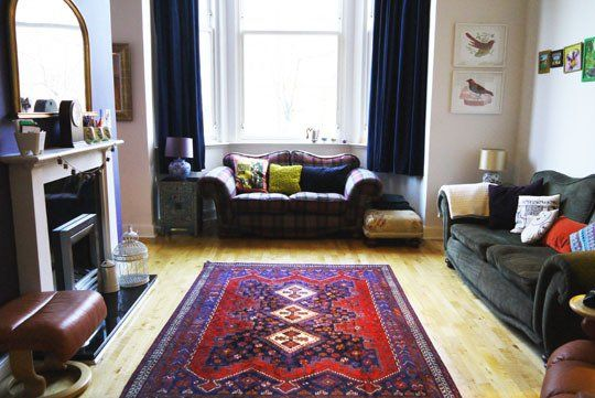Lizzie and Phil's Bold and Playful West-End Pad